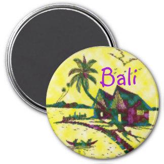 Bali Indonesien Runder Magnet 7,6 Cm