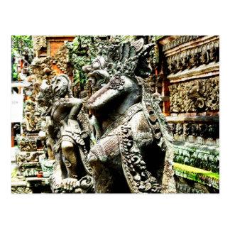 Bali Postkarte