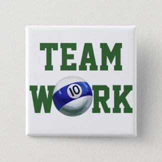 Ball 10 quadratischer button 5,1 cm