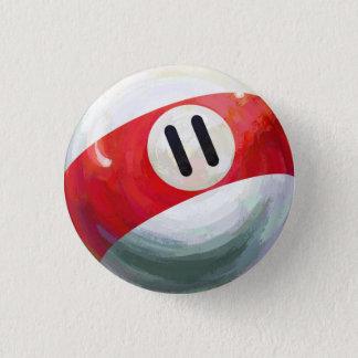 Ball 11 runder button 2,5 cm