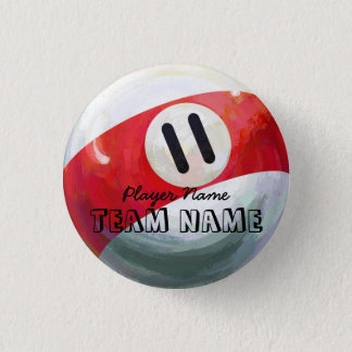 Ball 11 runder button 3,2 cm