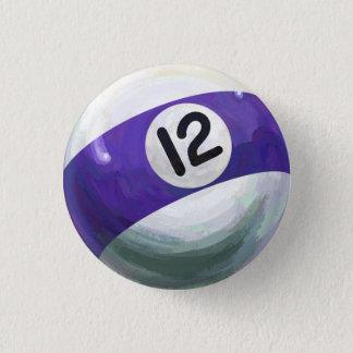 Ball 12 runder button 3,2 cm