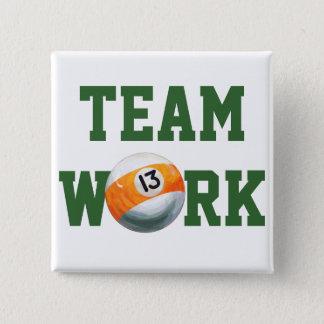 Ball 13 quadratischer button 5,1 cm