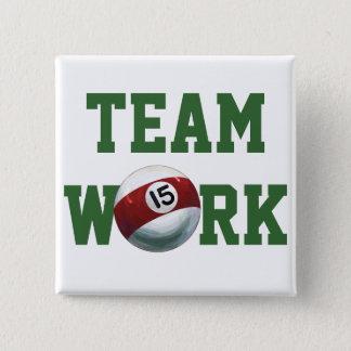 Ball 15 quadratischer button 5,1 cm