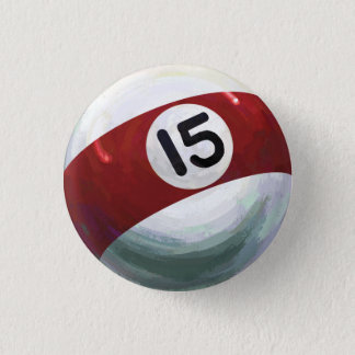 Ball 15 runder button 2,5 cm