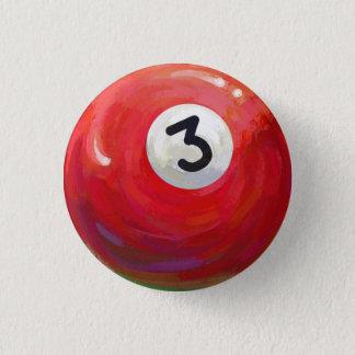 Ball 3 runder button 3,2 cm
