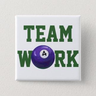 Ball 4 quadratischer button 5,1 cm