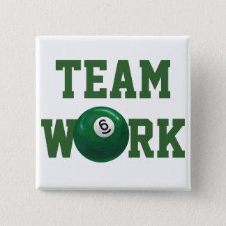 Ball 6 quadratischer button 5,1 cm