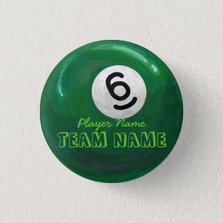 Ball 6 runder button 3,2 cm