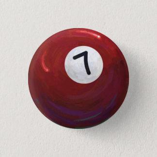 Ball 7 runder button 3,2 cm