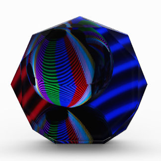 Ball reflektieren 2 acryl auszeichnung