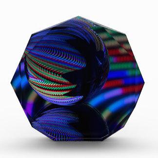 Ball reflektieren 3 acryl auszeichnung