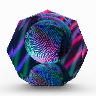 Ball reflektieren 4 acryl auszeichnung
