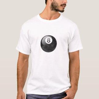 Ball-T-Stück der Camouflage-Ausgaben-acht T-Shirt