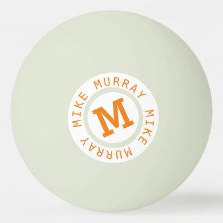 Balle De Ping Pong lueur dans la boule de ping-pong foncée