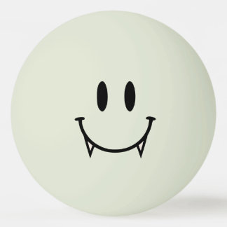 Balle De Ping Pong Lueur dans la boule de ping-pong souriante de