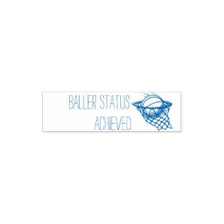 Baller Status erzielte Lehrer-Briefmarke Permastempel