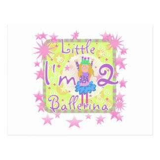 Ballerina-2. Geburtstags-T-Shirts und Geschenke Postkarte