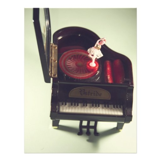 Ballerina auf einer Klavier-Spieluhr