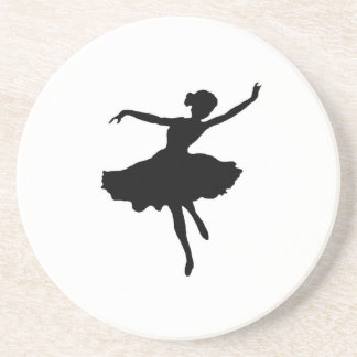 Ballerina Getränkeuntersetzer