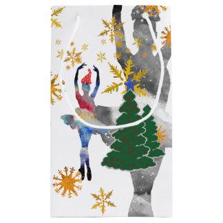 Ballerina-neues Jahr-kundenspezifische Kleine Geschenktüte