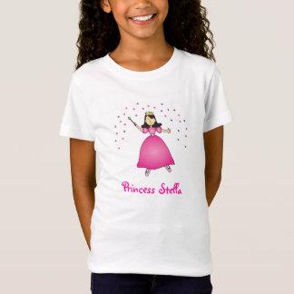 Ballerina-Prinzessin Personalized Girls Shirt