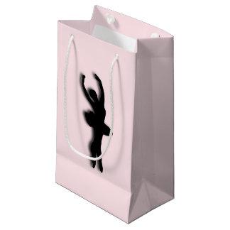 Ballerina-Rosa Kleine Geschenktüte