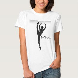 Ballerina-Silhouette-    T - Shirt