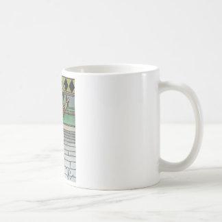 Ballerina-Socken-Affe Kaffeetasse