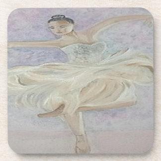Ballerina-Tänzer Untersetzer