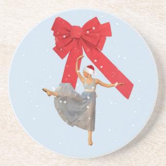 Ballerina-WeihnachtsUntersetzer Untersetzer