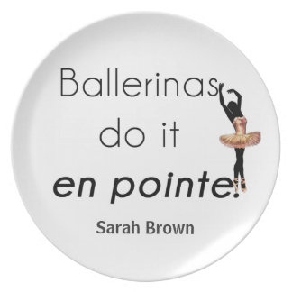 Ballerinen so es! essteller