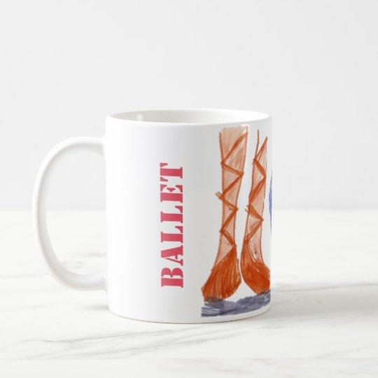 Ballet Pause Tee-/Kaffee Mug Kaffeetasse