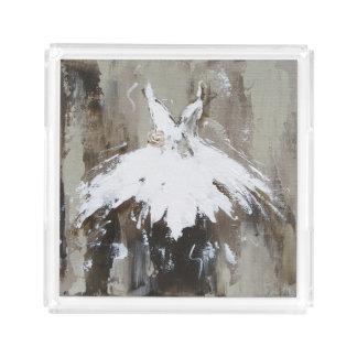 Ballett-Ballettröckchen Acryl Tablett