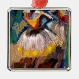 Ballett - Dega Silbernes Ornament