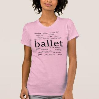 Ballett fasst T - Shirt ab