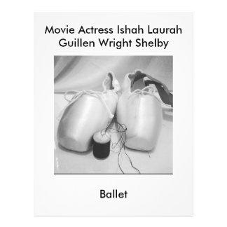 Ballett Film-Schauspielerin-Laura Guillen alias Flyer