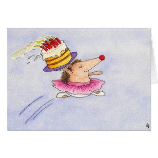 Ballett-Geburtstagsgrußkarte durch Nicole Janes Karte