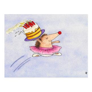 Ballett-Geburtstagspostkarte durch Nicole Janes Postkarte