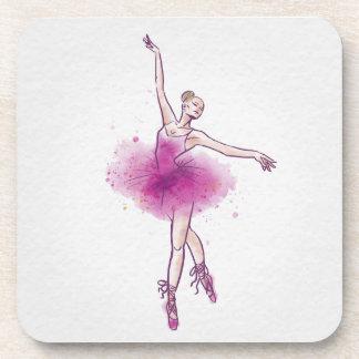 Ballett Getränkeuntersetzer