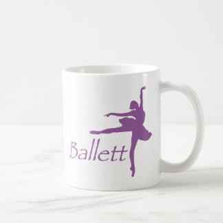 ballett kaffeetasse
