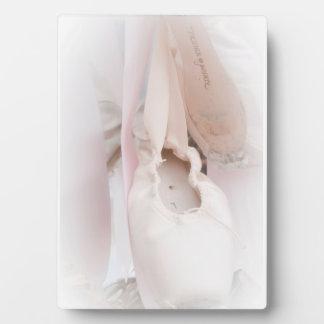 Ballett Pointe Plakette Fotoplatte
