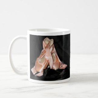 Ballett-Schuh-Muster Kaffeetasse