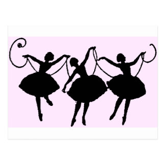 Ballettwaren Postkarte