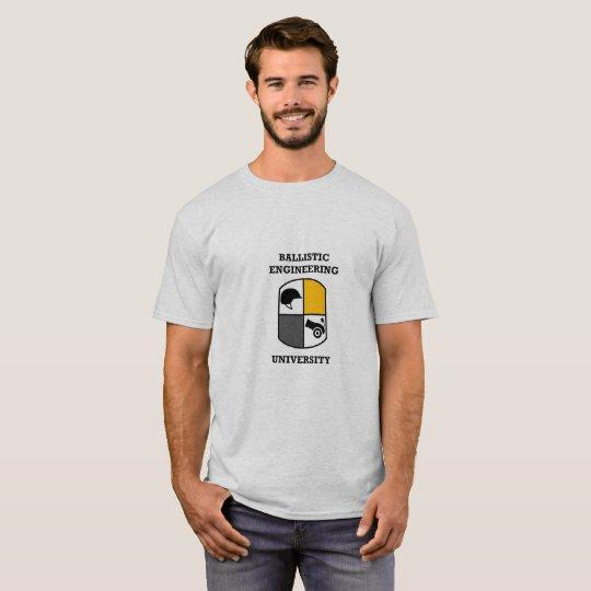 Ballistisches ausführenu. T-Shirt