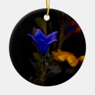 Ballon-Blumen Rundes Keramik Ornament