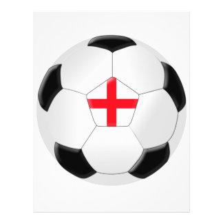 Ballon de football - Angleterre Prospectus 21,6 Cm X 24,94 Cm