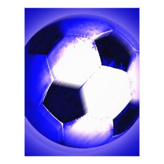 Ballon de football - boule du football prospectus avec motif