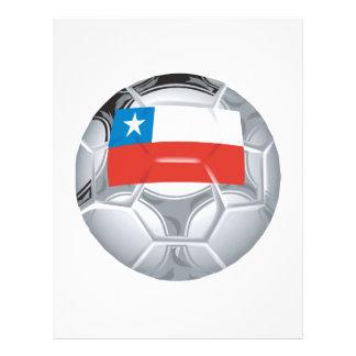 Ballon de football chilien prospectus personnalisés