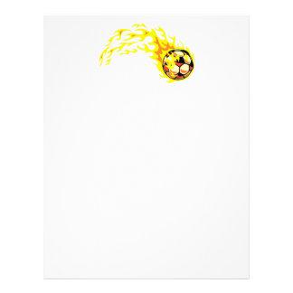Ballon de football de Flamin' Prospectus 21,6 Cm X 24,94 Cm
